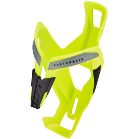 Elite Custom Race Plus Flaskeholder, yellow glossy/black graphic